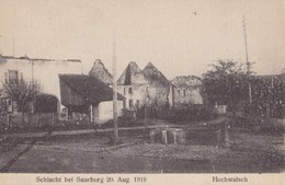 HOCHWALSCH - Schlacht Bei Saarburg 20 Aug. 1919 - Frankreich