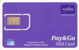 Belgium - Proximus - Pay&Go - GSM SIM  - Mint - Other