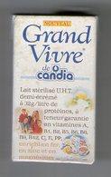 MAGNET    BRIQUE DE LAIT    CANDIA   GRAND VIVRE - Advertising