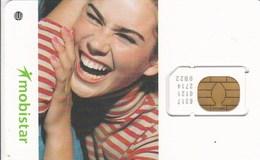 Belgium - Mobistar (Smiling Girl) - GSM SIM  - Mint - Other