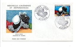 NOUVELLE CALEDONIE FDC 1974 (PA150) COQUILLAGE - FDC