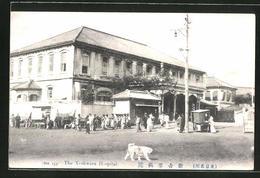 CPA Yoshwara, Strassenleben Am Yoshwara Hotel - Unclassified