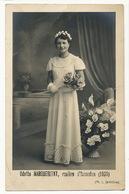 Issoudun Carte Photo Odette Margueritat Rosière En 1939 Ph. Lemoine . Legers Plis . - Issoudun