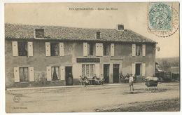 Tucquegnieux Hotel Des Mines . Mines Charbon. Coal Mines .  Cliché Schmitt Envoi à Champfromenteau Commentry - France