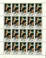 """Luxembourg Feuille De 20 Timbres """"A""""  Cinquantenaire Du Festival De Wiltz 2002 (état!!) - Full Sheets"""