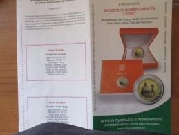 2016 Moneta COMMEMORATIVA 2 Euro In Folder  Corpo Gendarmeria Stato Città Del Vaticano CONSEGNA IMMEDIATA - Vaticano