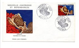 NOUVELLE CALEDONIE FDC 1974 (PA151) COQUILLAGE - FDC