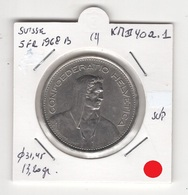 Suisse. 5 FS 1968 B. Pièce En Cu/Ni 13,20 Gr. Diam 31,45 Mm. SUPERBE - Zwitserland