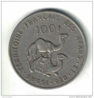 100 FRANCS AFARS Et ISSAS 1970 - Djibouti
