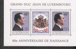 Luxemburg Block 13 Geburtstaag Des Großherzogs  MNH Postfrisch ** - Blocs & Hojas