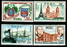Peru-0102 - Emissione Di P. A. 1957 (++) MNH - Senza Difetti Occulti. - Peru