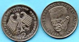 (r65)  GERMANY Fédéral Rép  2 MARK 1992 J   Kurt SCHUMACHER Km#149 - [ 7] 1949-… : FRG - Fed. Rep. Germany
