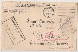 Pour Prisonnier Allemand Au MAROC , VILLE SIDI MOUSSA, M2, SUBDIVISION DE RABAT. Vérifié. Cover NEUKOLLN. - Guerre De 1914-18