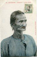 INDOCHINE CARTE POSTALE DE COCHINCHINE -THUDAUMONT -VIEILLARD (BUSTE) AYANT VOYAGEE - Postales