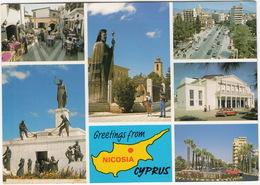 Greetings From Nicosia - Cyprus - Cyprus