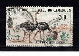 Kameroen 1962 Mi Nr 372, Vogel, Bird, Struisvogel - Kameroen (1960-...)