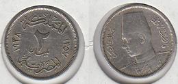 EGYPTE  2 Millièmes 1357 - 1938   Egypt KM#359 - Egypt