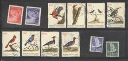 Lot De Timbres Vatican Thème Oiseaux - Collections, Lots & Series