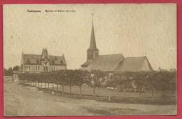 Seloignes - Eglise Et Hôtel De Ville - 1937 ( Voir Verso ) - Momignies