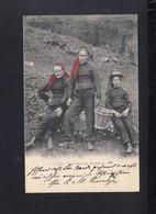 Schweiz AK Paysannes De Champery 1903 - VS Wallis