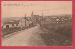 Froidchapelle - Route De La Station - 1930 ( Voir Verso ) - Froidchapelle