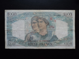 FRANCE : 1000 FRANCS  5.5.1948   FAYETTE 41 / P 130b    TB+ * - 1871-1952 Antichi Franchi Circolanti Nel XX Secolo