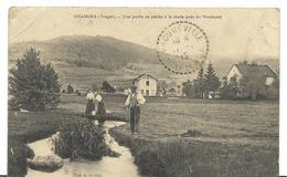 ~   JP  ~   88  ~ GRANGES  . ~  Une Partie De Peche à La Truite Près Du Pinchesté - Granges Sur Vologne