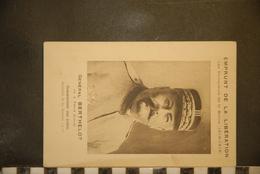 CP, MILITARIA, Personnages, Emprunt De La Libération Les Vainqueurs De La Marnes Général BERTHELOT, Né à FEURS (Loire) - Guerre 1914-18