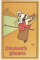 Colman's Starch Poster, 1899 - (Nostalgia Postcard) - Reclame