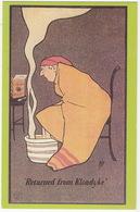 Colman's Mustard C. 1903 - 'Returned From Klondyke' Publicity Card - (Nostalgia Postcard) - Reclame
