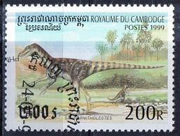 PIA  - 1999 - CAMBOGIA - Animali Preistorici - Saurornistholestes - Cambogia
