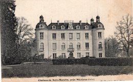 V15249 Cpa 36 Château De Notz Marafin, Près Mézières - Non Classificati