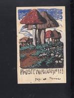 Dt. Reich Aquarell Albert Reich 1907 Gelaufen Signiert - Künstlerkarten
