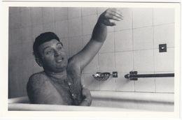 Frankie Lane, 1954 - American-Italian Pop-singer - Singing In The Bath - (Nostalgia Postcard) - Muziek En Musicus