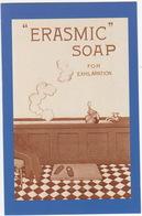 Erasmic Soap For Exhilaration, 1920  - (Nostalgia Postcard) - Reclame