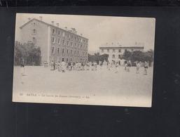 France Algerie CP Batna La Caserne Des Zouaves 1915 - Kasernen