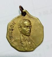 Medaglia Propagandistica - Woodrow WILSON - NEW DEAL ( 1919 ) Bronzo / 24mm - U.S.A. / Stati Uniti - Stati Uniti