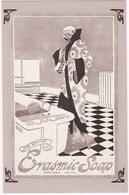 Erasmic Soap Advertisement , 1918  - (Nostalgia Postcard) - Reclame