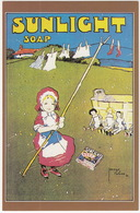 Sunlight Soap Poster  - (Nostalgia Postcard) - Reclame