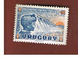 URUGUAY   -  SG  1120 -  1962 BOY AND DAM   - MINT ** - Uruguay