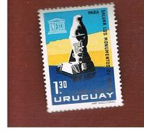 URUGUAY   -  SG  1245-  1964 UNESCO: SPHINX, SEBNA  - MINT ** - Uruguay