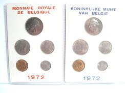 MONNAIE DE BELGIQUE SERIE FDC  1972 FRANCS - 1951-1993: Baudouin I