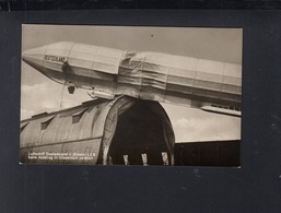 Dt. Reich AK Luftschiff Deuschland II LZ 8 Beim Aufstieg In Düsseldorf Zerstört - Luchtschepen