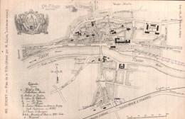 89 JOIGNY PLAN DE LA VILLE - Cartes Géographiques