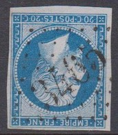 GC   3465   STRASBOURG   (  67  -  BAS  RHIN  )  SUR 14 - 1849-1876: Klassieke Periode