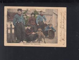Postkaart Visschers Van Volendam 1901 - Volendam