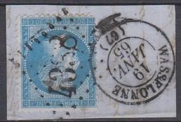GC   4338   WASSELONNE   (  67  -  BAS  RHIN  )  SUR  FGT - 1849-1876: Classic Period