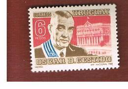 URUGUAY   -  SG  1386  -  1968 O.D.GESTIDO                                                             - MINT ** - Uruguay