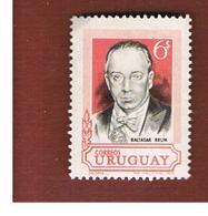 URUGUAY   -  SG  1396  -  1969 B. BRUM                                                            - MINT ** - Uruguay
