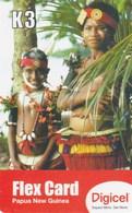 Papua New Guinea - Digicel - Woman And Child - Papua New Guinea